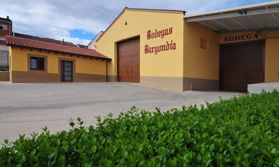 Fachada Bodegas Bargondía